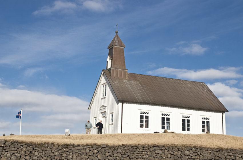 Guðsþjónusta í Strandarkirkju í Selvogi á sunnudaginn