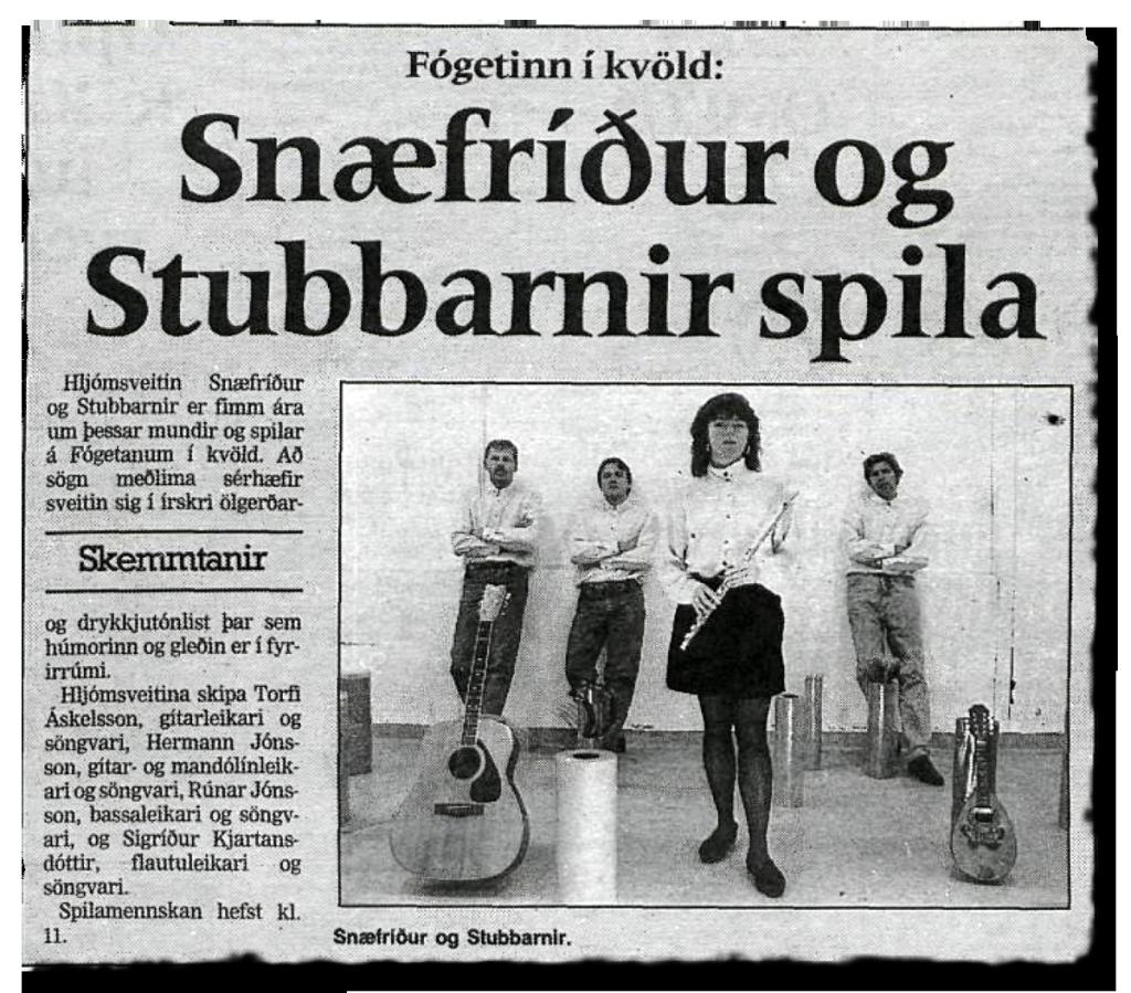 snaefridurogstubbarnir_dv1994