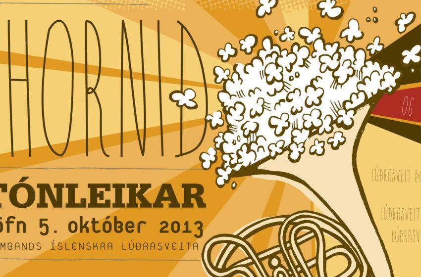 Stórtónleikarnir Popphornið 5. október í Þorlákshöfn