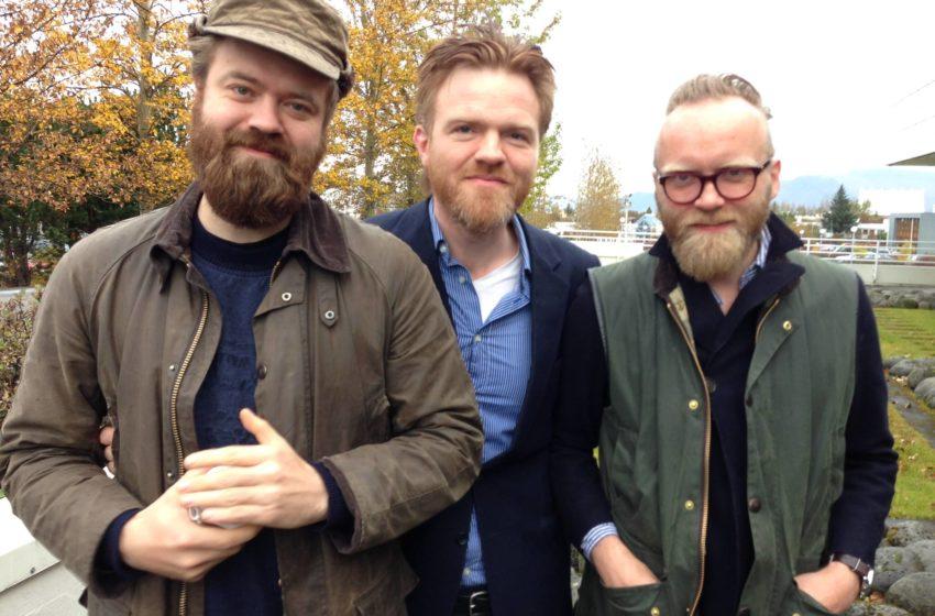 Jónas, Mugison og Ómar Guðjóns gefa út Dranga