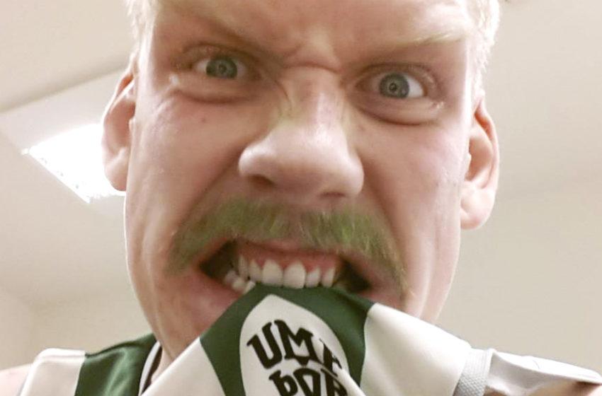 Ragnar með frumlega og skemmtilega útfærslu á Mottumars