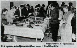 Opnun félagsmiðstöðvar