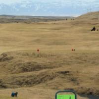 Einstaka kylfingar hafa leikið golf í leyfisleysi á lokuðum Þorláksvelli