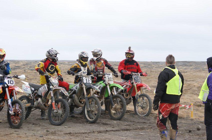 Vel heppnuð og skemmtileg motorcrosskeppni – myndir