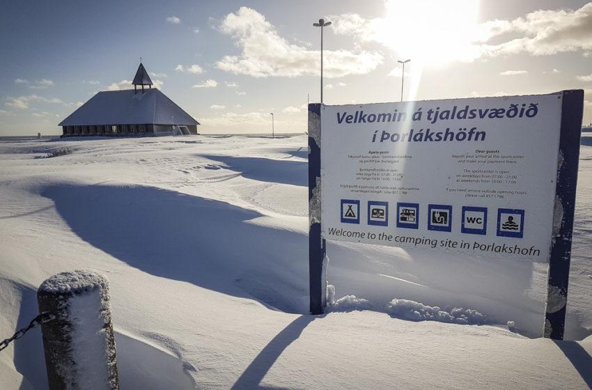Falleg vetrarveður í Þorlákshöfn – myndasafn