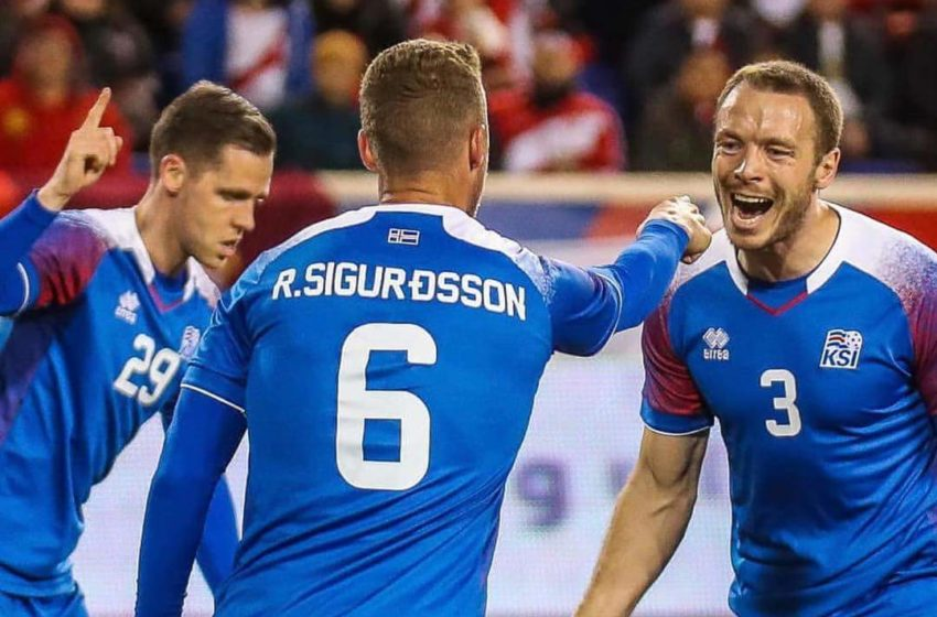 Jón Guðni með eina mark Íslands