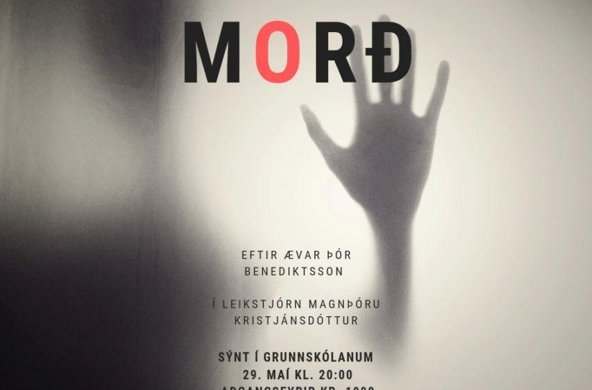 Morð í Grunnskólanum í Þorlákshöfn í kvöld