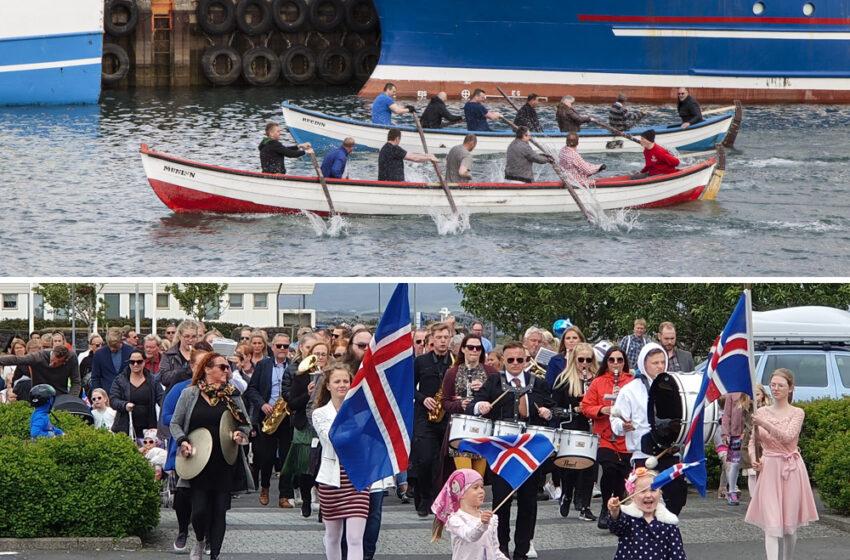 Engin dagskrá á sjómannadag en 17. júní verður haldinn hátíðlegur