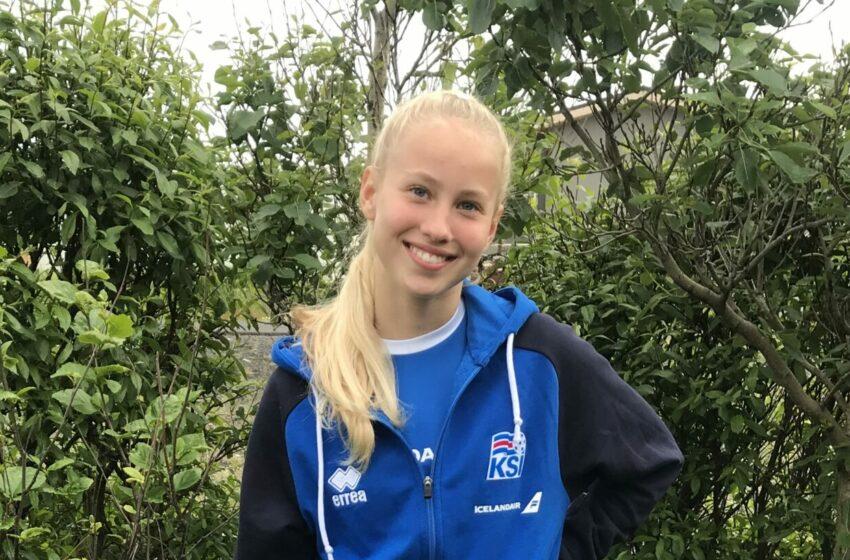 Auður Helga valin á U16 landsliðsæfingar