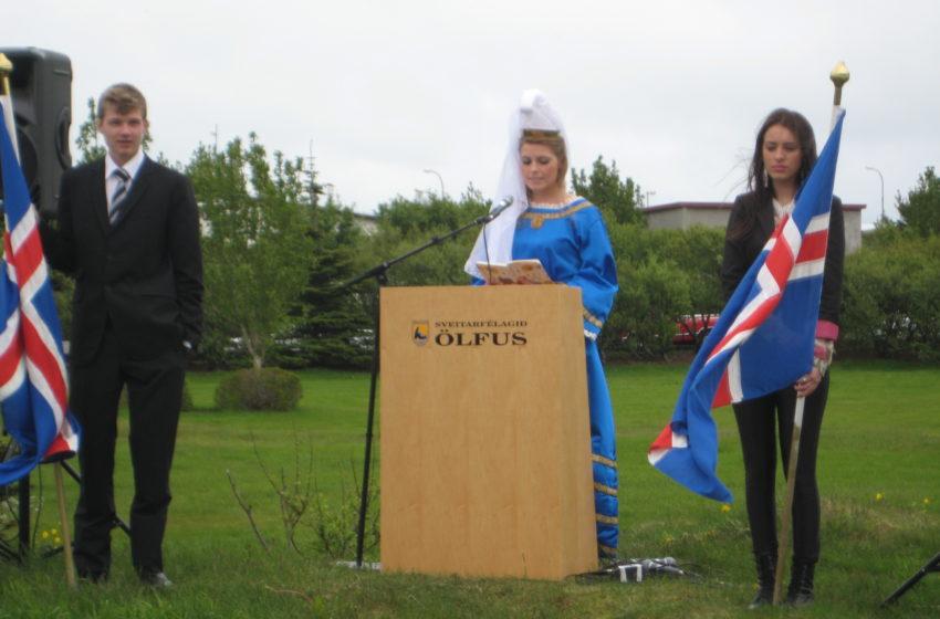 Hæ, hó og jibbí jei – 17. júní Hátíðarhöld í Þorlákshöfn