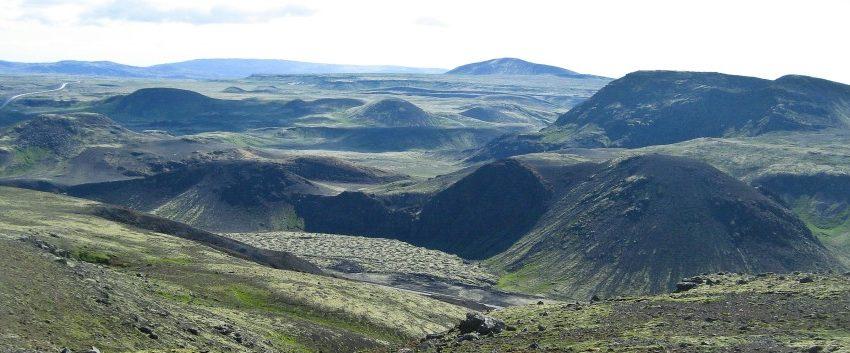 Gróðureldur á Hellisheiði
