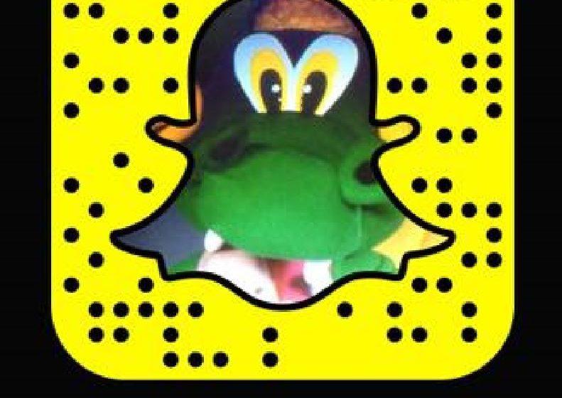 Græni drekinn byrjaður að hita upp á Snapchat