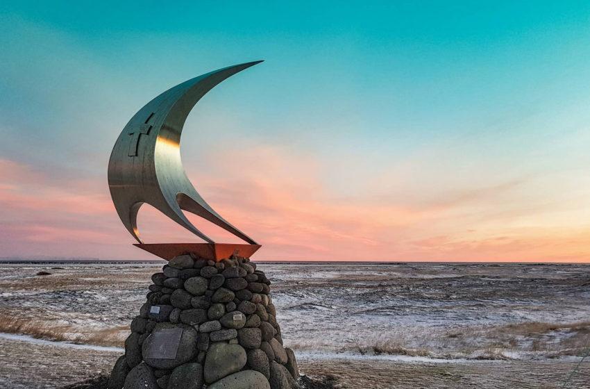 #Þorlákshöfn frá sólarupprás til sólseturs #Thorlakshofn od wschodu do zachodu słońca