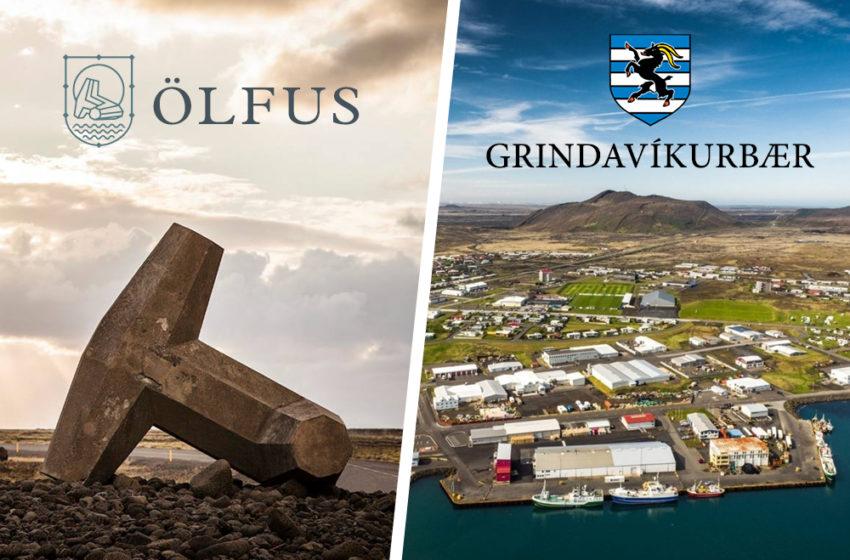Ræddi samvinnu og sameiningu Ölfuss og Grindavíkur