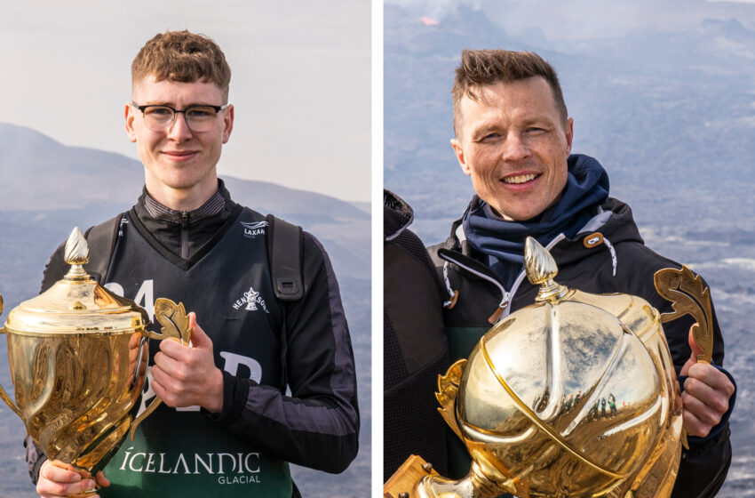 Styrmir og Lárus verðlaunaðir