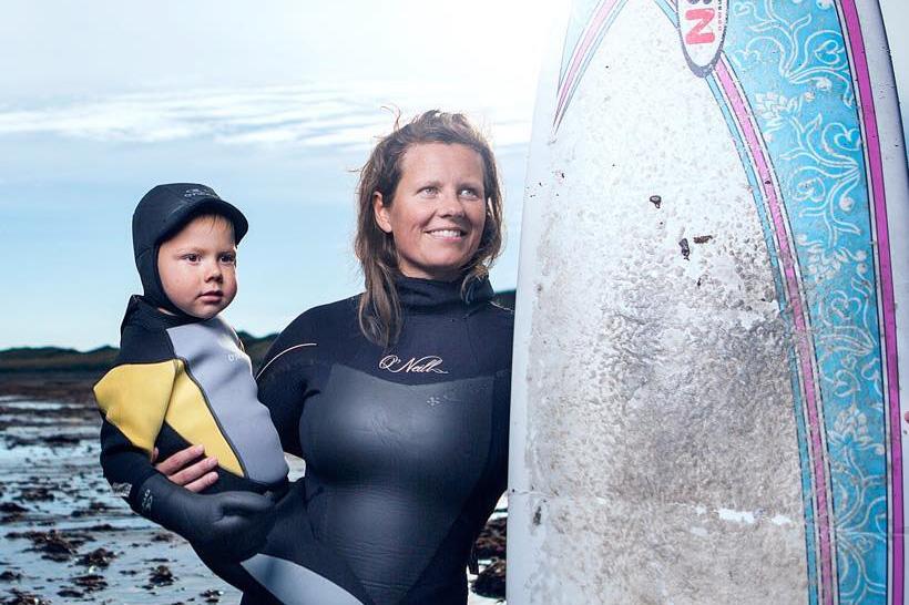 Bergrisinn, surf- og strandhátíð á laugardaginn